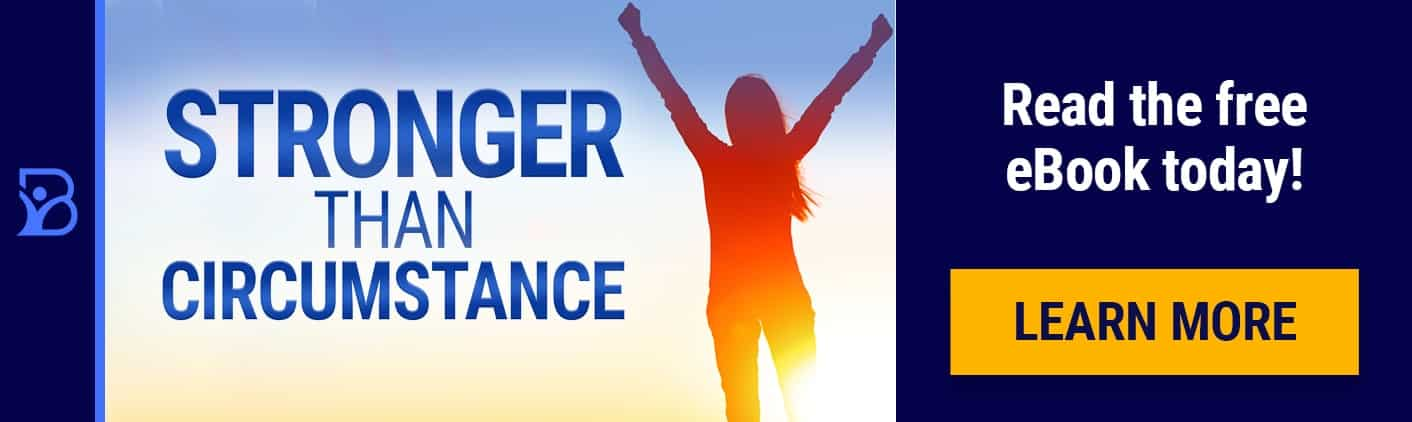Stronger Than Circumstance by Mary Morrissey Banner