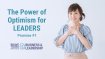 The Power of Optimism for Leaders – Promise #1